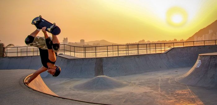 Skateboarding defies the logic of the city by making it a playground